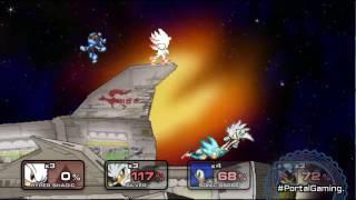 SSF2 Fire Sonic vs Amy vs Shadic vs Rouge   Daikhlo