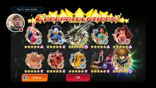 Kingdom Hearts Union X: 60,000 Jewel Pulls On The Keyart 16 Banner!