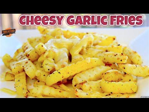 Cheesy Garlic Fries Recipe - How to make