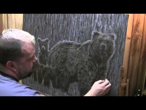 Bear Paints Bears