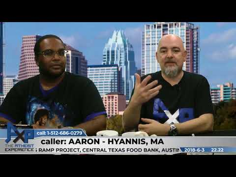 Harder to Come Out Gay or Atheist | Aaron - Hyannis, MA | Atheist Experience 22.22