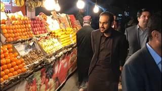 CM Balochistan suddan Visit to sattar raod And jinha raod....