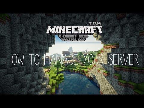 Manage your Minecraft Server | Minecraft-Worlds
