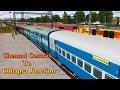 12669/Ganga Kaveri Express     Balharshah Junction On time    MSTS Open Rail
