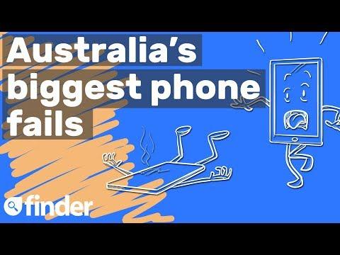 Australia's biggest phone fails