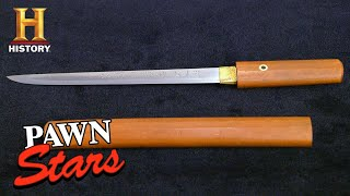 Pawn Stars: Rick's RAZOR-SHARP Deal for Historic Japanese Sword (Season 18) | History