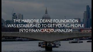 Download City, University of London: Financial Journalism Marjorie Deane Foundation Sudentships Video