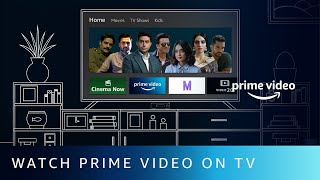 How to watch Prime Video on your SmartTV?