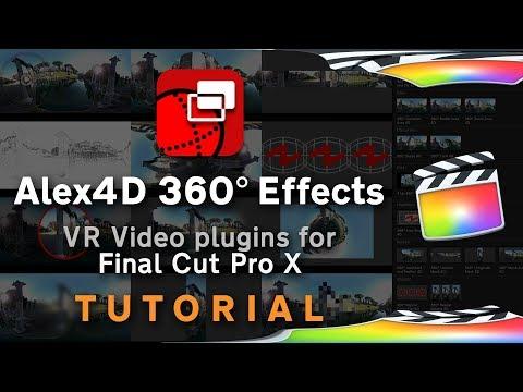 Alex4D 360 Effects Plugins for Final Cut Pro X