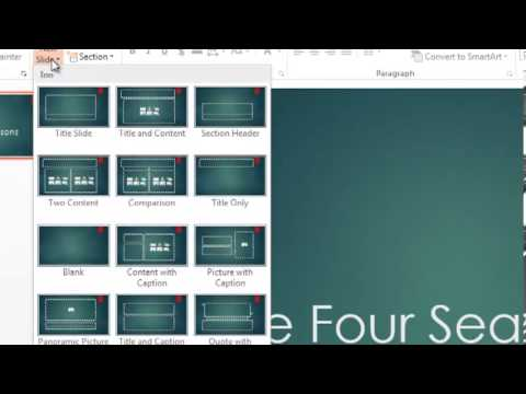PowerPoint Tutorial 1 of 5 - Create Your First Slideshow