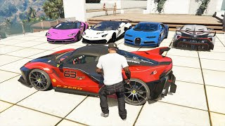 GTA 5: Stealing Super Cars with Franklin #10 (GTA 5 Expensive Cars)