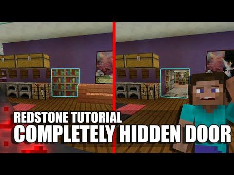 Minecraft: Completely Hidden Redstone/Jeb Door