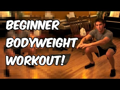 Beginner Body Weight Circuit Workout | Nerd Fitness