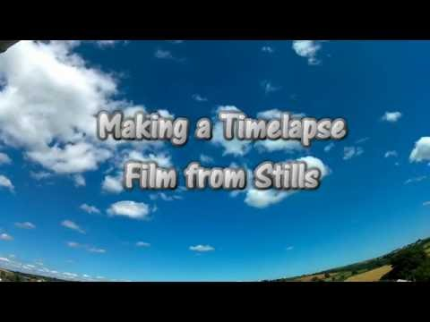 How to make a timelapse film from still photos (Excelvan Q8 & Windows Movie Maker)