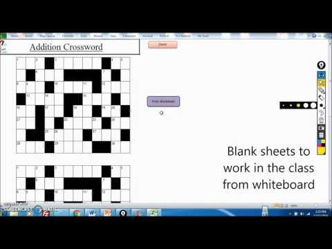 Crossword Addition