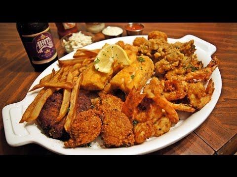 Gulf Coast Seafood Platter Recipe