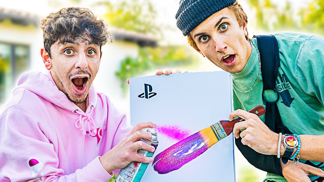 We Customized a NEW PS5!! ft. Marko (GIVEAWAY)