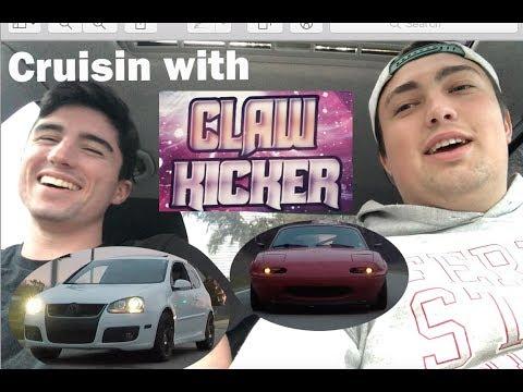 Cruisin with CLAW KICKER! Turbos & DSG Farts ;)