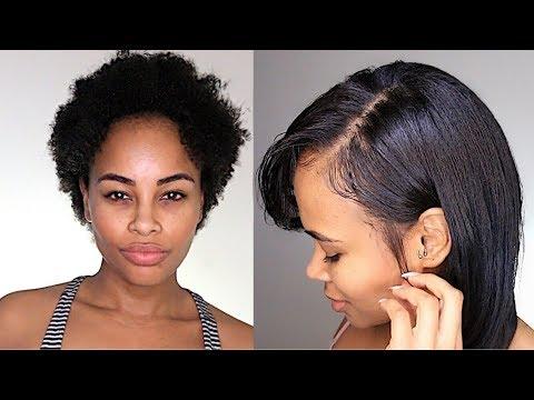 How I Silk Press My Natural Hair