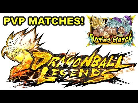 DRAGON BALL LEGENDS CLOSED BETA PVP GAMEPLAY 5 STRAIGHT WINS!