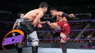Akira Tozawa vs. TJP: WWE 205 Live, June 13, 2017