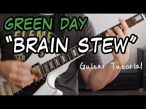 Learn Green Day inspired guitar punk rock song power chord palm ...