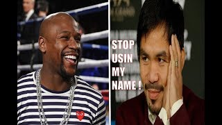 Download BREAKING NEWS: (WOW) MANNY PACQUIAO BLAST FLOYD MAYWEATHER ! ″STOP USING MY NAME & LYING″ Video
