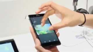 Sony Xperia Z   TechCrunch At CES 2013