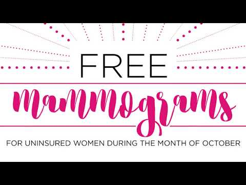 Premier Radiology's Free Mammograms for the Uninsured