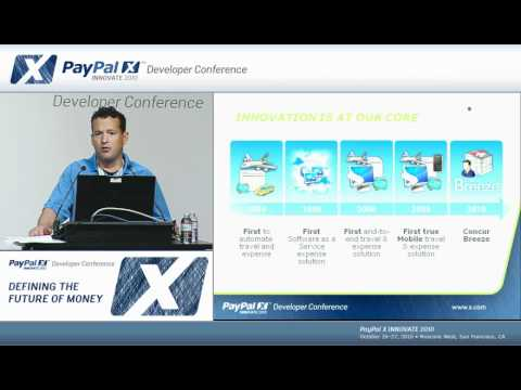 PayPal X Innovate 2010: Replacing Checks and Cash with PayPal