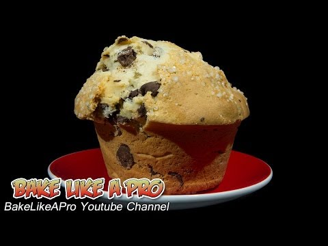 JUMBO Chocolate Chip Muffins Recipe