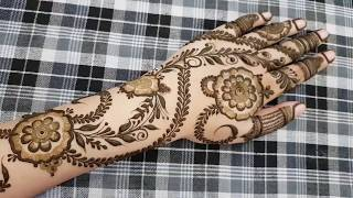 Hv Creations Of Henna Design 5 Heena Vahid