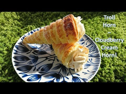 Troll Horn - Cloudberry Cream Horn - As seen in Epcot!