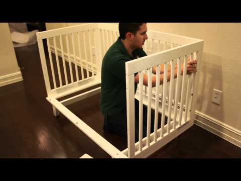 babyletto Hudson Crib Build (timelapse)