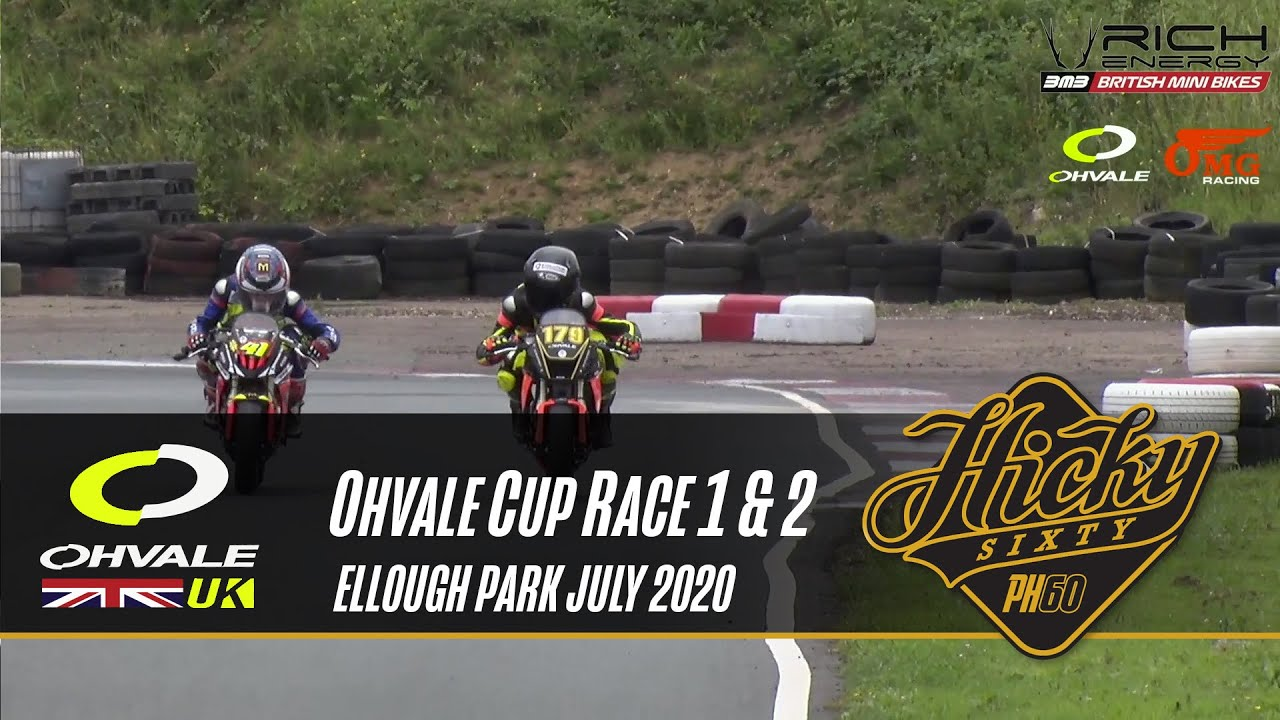 OMG Ohvale UK Cup, Race 1 & 2 Ellough Park Raceway, British Mini Bikes Championship