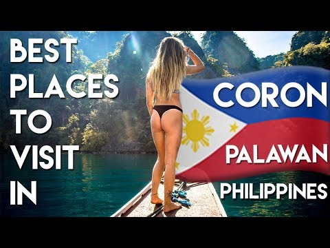 BEST Places to visit in CORON PALAWAN - Philippines Travel Vlog Ep 3