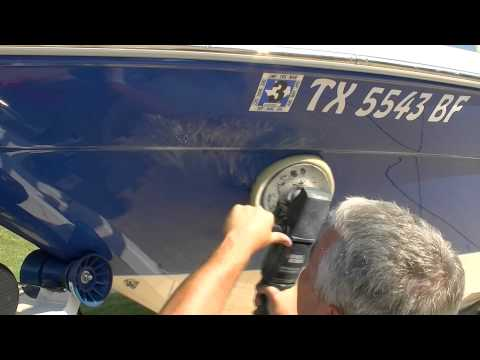 HOW TO SAND A BUFF OUT A GEL BOAT BOAT FINISH