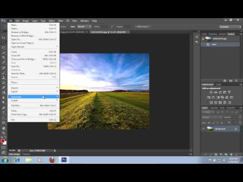 How to Merge Image to HDR in Photoshop CS6