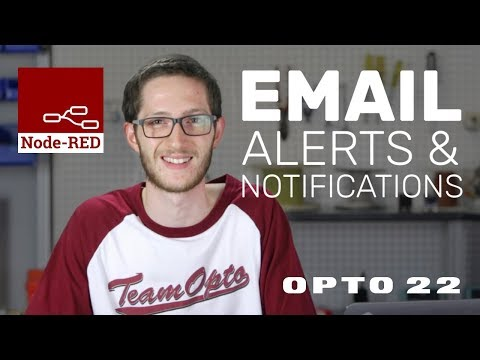 Node-RED Tutorial: Email Alerts & Notifications