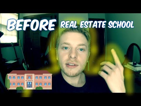 What You Should Do BEFORE Real Estate School