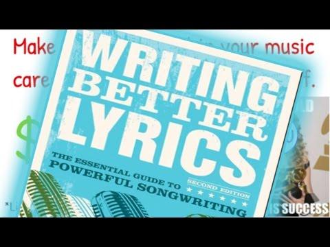 Writing Better Lyrics by Pat Pattison   Whiteboard Animation Summary/Review