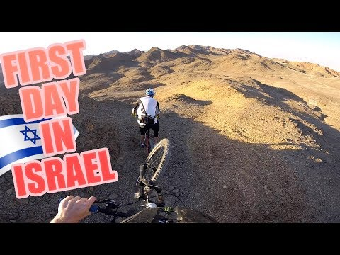 MY FIRST DAY RIDING MTB IN ISRAEL WAS AWESOME!