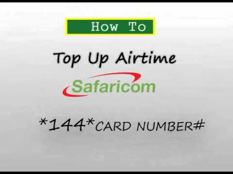 How to top up