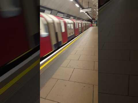 London Euston underground station - Northern line