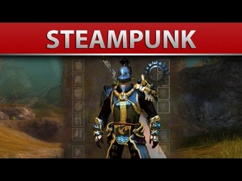 Guild Wars 2: Aetherblade Armor Sets For All Classes -Steampunk Armor