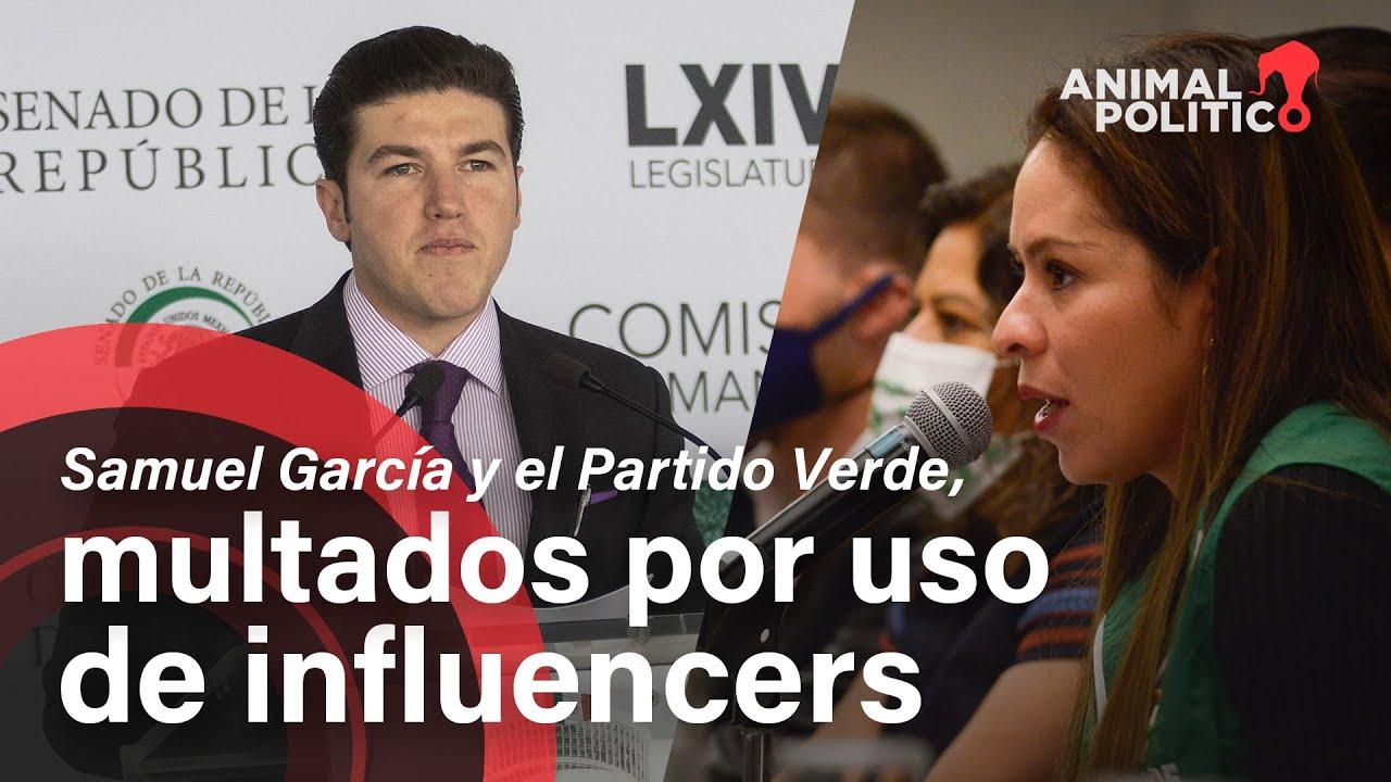 Samuel García y el Partido Verde sancionados por mal uso de publicidad en redes sociales