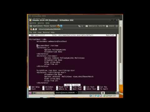 Change Apache's DocumentRoot Location - Ubuntu 10.04