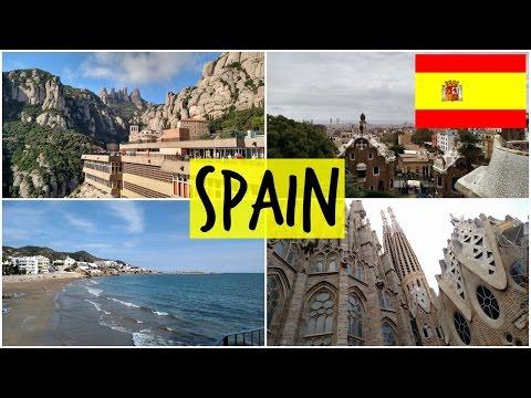 SPAIN: Barcelona, Sitges, and Montserrat Monastery!