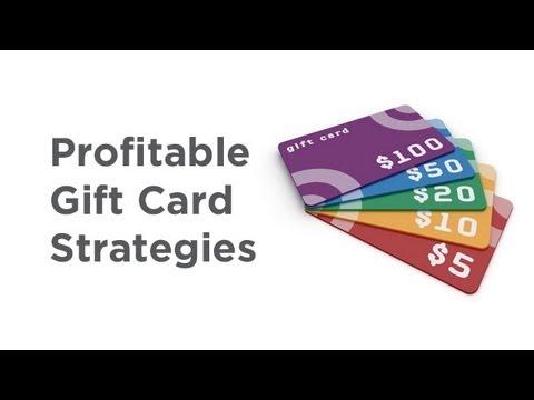 Profitable Gift Card Strategies