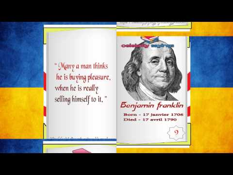 Benjamin Franklin Quotes - Need Sexes Books Cookery & Commerce
